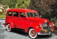 1942 Chevrolet Carryall Suburban