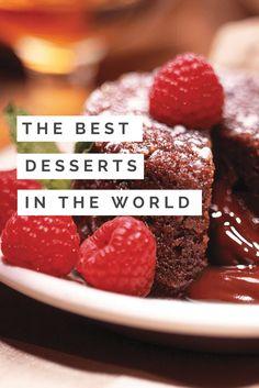 The 26 Yummiest Desserts From Around The World