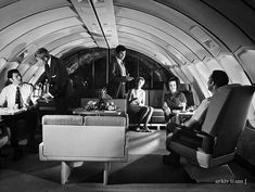 The last time plane travel was exciting & elegant...1970's
