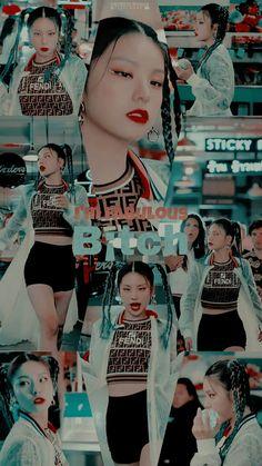"MV "" ICY"" Wallpaper lockscreen Fondo de pantalla HD iPhone K-pop K Pop Wallpaper, Tumblr Wallpaper, Wallpaper Lockscreen, Kpop Girl Groups, Korean Girl Groups, Kpop Girls, Memes Br, Meme Meme, Kpop Drawings"