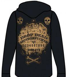 too fast ouija board burnout lightweight hoodie