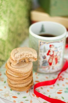 Turmeric n spice: Holiday Cookies- Expresso Cream Sables : DBC November, 2012