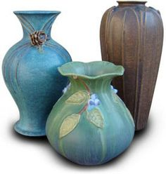 art pottery inspired by the arts and crafts aesthetic.