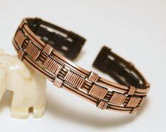 hombre brazalete plata pulsera para hombres por BeyhanAkman
