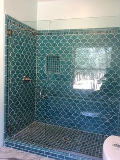Installation Stories: An Ocean-Inspired Ogee Drop Bathroom | Fireclay Tile Design and Inspiration Blog | Fireclay Tile