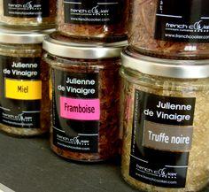 JULIENNE de VINAIGRE, Découvrez de nouvelles sensations gustatives avec ces vinaigres solides FRENCH COOKER.