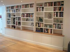 bookcase ideas, with oak top