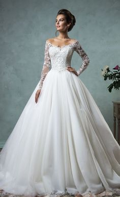 Featured Dress: Amelia Sposa; Wedding dress idea.