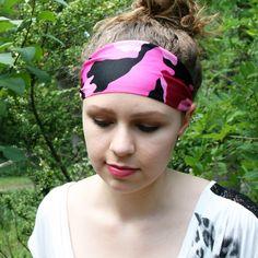 Workout Headband, Yoga Headband, Wide Headband, Running Headbands, Sports Headbands, Athletic Headbands, Hunting, Spandex, Boho