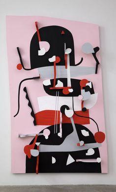 Nathan Carter MATSU-NO-R?KA IMPERIAL GARDEN GRENADINE GUARD (H.Q.), 2012 Wood, acrylic and enamel paint.