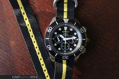 Seiko Solar Chronograph Diver SSC021