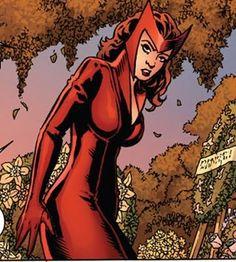 The Scarlet Witch by John Cassiday Dr Strange, Strange Magic, Marvel Comics, Marvel Avengers, Marvel Women, Marvel Girls, Girls Characters, Marvel Characters, X Men