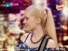American Girl Speaking Chinese:《中国梦想秀》美国女人唱中文歌 - YouTube