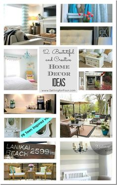 12 Beautiful and Creative Home Decor Ideas from Setting for Four