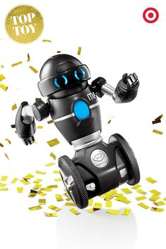 """Make this holiday memorable with WowWee MiP. This """"kid's best friend"""" robot responds to movement, plays games, has a free app and much, much more."""