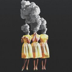 ▶ Fajar P. Domingo ▪ via - Best Pins Live Surreal Collage, Collages, Surreal Art, Collage Design, Collage Art, Dream Collage, Psychedelic Art, Photomontage, Kreative Portraits