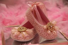 Items similar to Baby Girl Dress Shoes hand embellished with rhinestones on Etsy Girls Dress Shoes, Baby Girl Shoes, Girls Dresses, Bridal Flats, Wedding Shoes, Baby Shoe Sizes, Baby Feet, Long Toes, Baby Dress