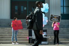 A different kind of walkout: Some Pasadena City College students participate in nationwide pro-life protest #college