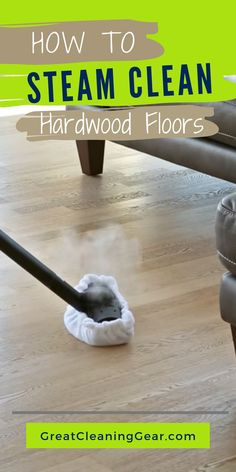 How to Steam Clean Hardwood Floors. There are some important things to know before you start using a steam cleaner on the hardwood. Cleaning Wood Floors, Clean Hardwood Floors, Wood Flooring, Floor Cleaning, Deep Cleaning, Safe Cleaning Products, Cleaning Hacks, Diy Hacks, Cleaning With Hydrogen Peroxide