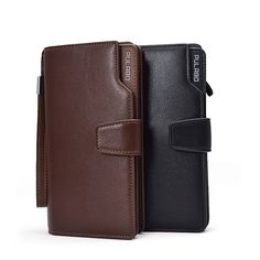 Men Business Long PU Zipper Cards Holder Purse Handbag Wallet Description: Color:Black,Coffee Material:PU leather Weight: Approx. 250g Detail in size: length:10.5cm(4.13inch) width(depth):3cm(1.18inch) height:19.8cm(7.79inch) Package: 1Xbag More detail:                   Disclaimer : About...