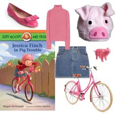costume based on jessica finch lover of all things pig of the judy - Judy Moody Halloween Costume