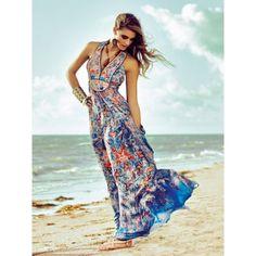 Island Placket Dress (Tall-Size) 04/2014 #121