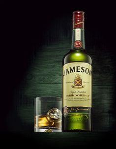 Jameson's Irish Whisky - Nora K. Jameson Whiskey Drinks, Jameson Irish Whiskey, Whiskey Gifts, Cigars And Whiskey, Whiskey Cocktails, Scotch Whiskey, Bourbon Whiskey, Whiskey Bottle, Jameson Bottle