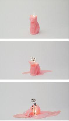 Cat Candle :D