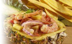 Receta de Ceviche de camarón con piña y maracuyá – PRONACA