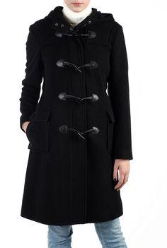 Phistic Women's Cashmere Blend Toggle Duffle Coat