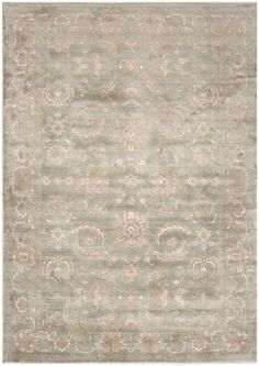 Safavieh Tibet TIB537A Dark Grey / Ivory Rug