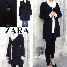 Zara fall coat. Velvet Zara coat in excellent condition. It looks like after wash. Zara Jackets & Coats