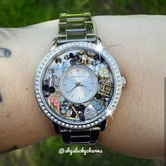 Slytherin Harry Potter Locket Watch