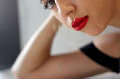http://allyouneedisstyle.com/glitter-lips/ #lips #glitter #glitterlips #mua #makeup #face #beauty