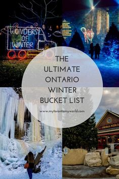 Winter Bucket List: 20 Things To Do In Ontario This Winter The Ultimate Ontario Winter Bucket List with tons of things to do in Ontario this winter!The Ultimate Ontario Winter Bucket List with tons of things to do in Ontario this winter! Toronto Canada, Canada Ontario, Canada Travel, Travel Usa, Fun Travel, Travel Tips, Travel Guides, Travel Destinations, Quebec