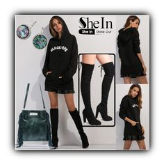 """""""2/14 shein"""" by fatimka-becirovic ❤ liked on Polyvore"""