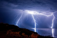 Lightning is one of the most beautiful things created by nature.