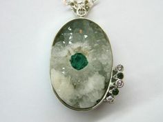 MMC Silver Pendants 0.55ct Gemstones Charm N Necklaces for Womens