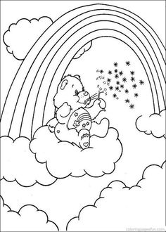 64 Best Care Bears Images Care Bears Coloring Pages Coloring Books