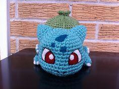 Baby Bulbasaur #crochet #pattern #free