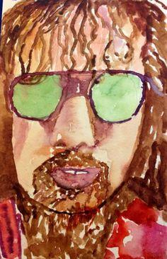 Sketchy #809: Fernando Perdomo (aka Dreaming in Stereo) by Donna Weston