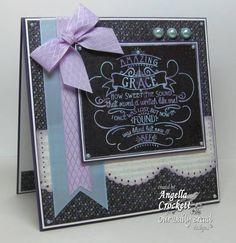 chalkboard paper cards | ODBD Chalkboard Sneak Peek! by angelladcrockett - Cards and Paper ...