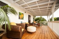 The simple and elegant lanai at the Darrell Hill Cottage on the Big Island of Hawaii offers incredible views of vivid Kona sunsets. The Cottage is the perfect place for an intimate, romantic getaway or honeymoon in Hawaii.  #honeymoon #honeymooninspo #honeymoonideas #romanticgetaway #naturecottages #hawaiicottage Fold Out Beds, Hawaii Honeymoon, Guest Rooms, Romantic Getaway, Lanai, Big Island, Nice View, Beautiful Gardens, Perfect Place