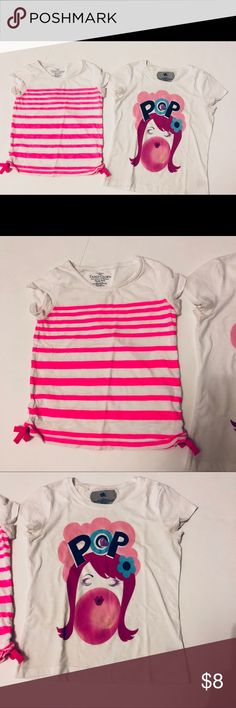 Girls shirt lot Faded Glory Size M (7/8) Ink S Girls shirt lot Faded Glory Size M (7/8) Ink Size S but runs big Tops Tees - Short Sleeve