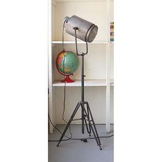 Metal Studio One Light Floor Lamp Kalalou Armchair/Task Floor Lamps Lamps