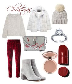 """""""Christmas Morning Look"""" by rea-godo on Polyvore featuring Haider Ackermann, Chloé, Gianvito Rossi, Dolce&Gabbana, Lilly e Violetta and Woolrich"""