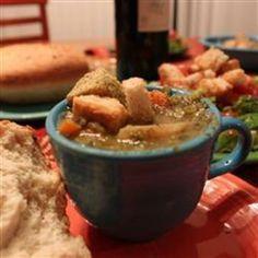 Vegan Split Pea Soup I