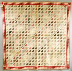 Two Geometric Patchwork Quilts