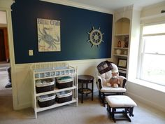 Nautical Nursery shelf