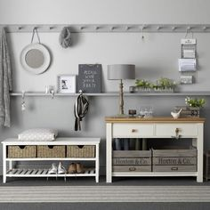Cool, calming grey | Traditional hallway ideas | Hallway | PHOTO GALLERY | Ideal Home | Housetohome.co.uk
